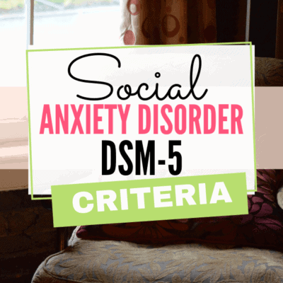 Social Anxiety Disorder DSM 5 Criteria (Most People Don't Know)