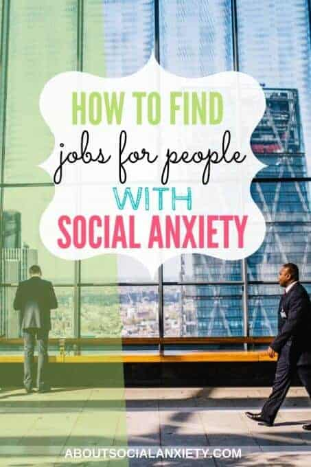 Businessmen walking with text overlay - How to Find Jobs for People with Social Anxiety