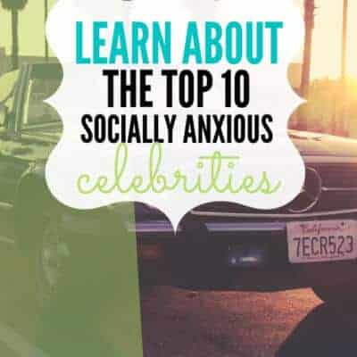 Celebrities with Social Anxiety