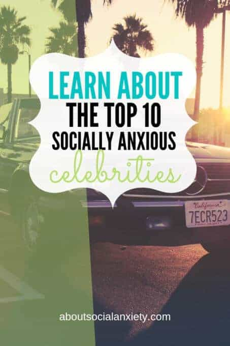 California license plate on car with text overlay - Learn About the Top 10 Socially Anxious Celebrities