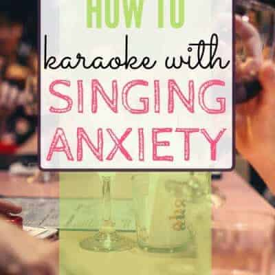 How to Karaoke When You Have Singing Anxiety