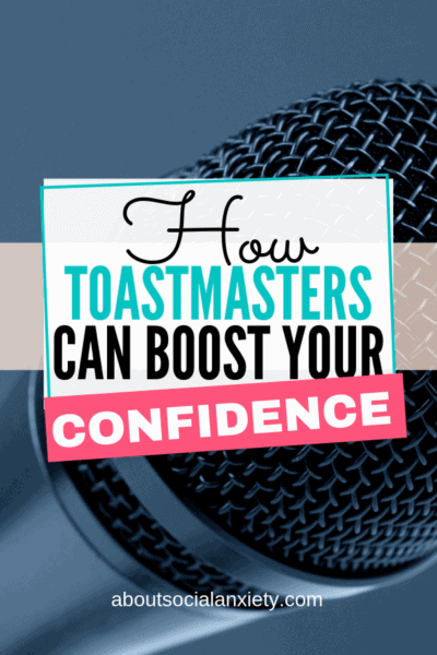 Microphone with text overlay - How Toastmasters Can Boost Your Confidence
