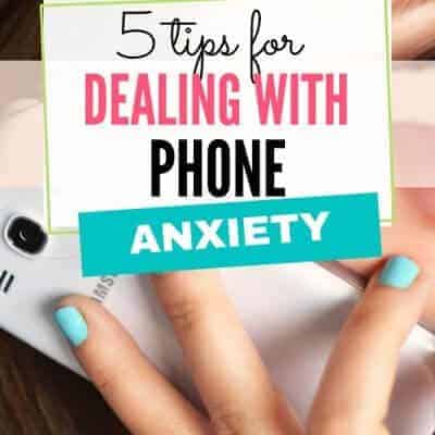 5 Tips for Dealing with Phone Anxiety
