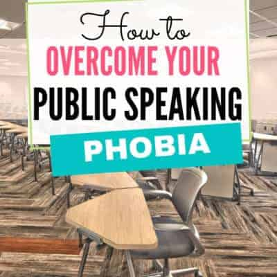 Public Speaking Phobia Tips (How to Get Over Your Fear)