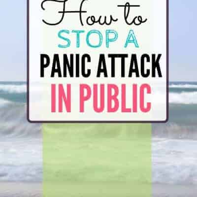 How to Stop a Panic Attack in Public