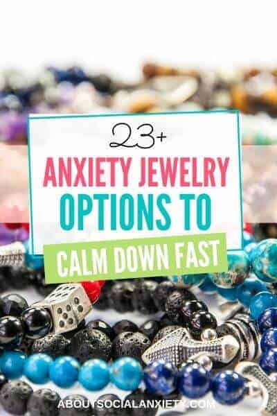 Bracelets with text overlay - 23+ Anxiety Jewelry Options to Calm Down Fast