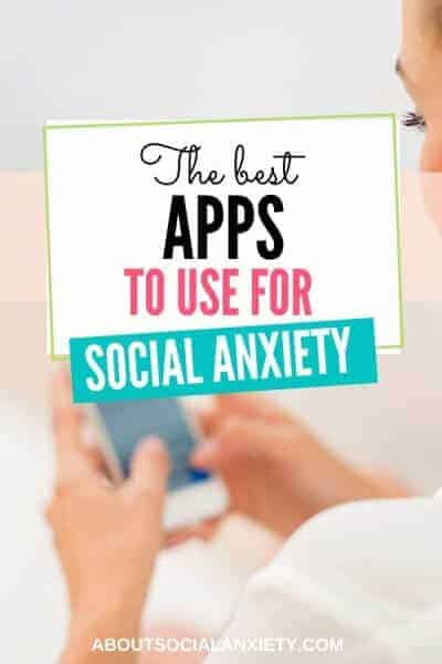 Person texting with overlay - The Best Apps to Use for Social Anxiety