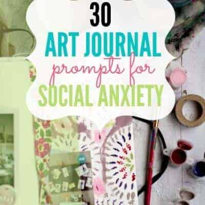25 Art Journal Prompts for Social Anxiety