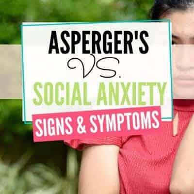 Asperger's vs. Social Anxiety