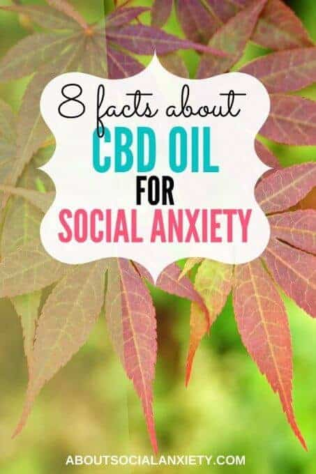 Leaves with text overlay - 8 Facts about CBD Oil for Social Anxiety
