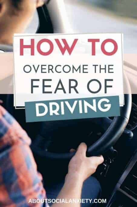 Woman driving with text overlay - How to Overcome the Fear of Driving