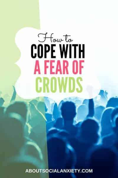 Crowd with text overlay - How to Cope With a Fear of Crowds