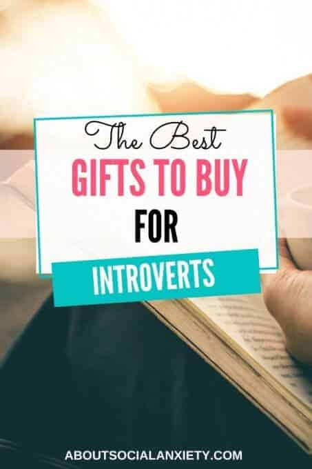 Book with text overlay - The Best Gifts to Buy for Introverts
