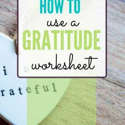How to Use a Sunburst Gratitude Worksheet