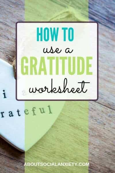 Heart on wood with text overlay - How to Use a Gratitude Worksheet