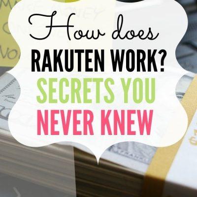How Does Rakuten Work?