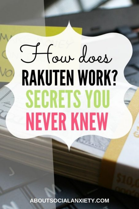 Pile of Money with text overlay - How Does Rakuten Work? Secrets You Never Knew