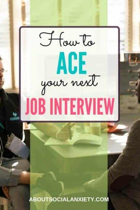 Job interview with text overlay - How to Ace a Job Interview