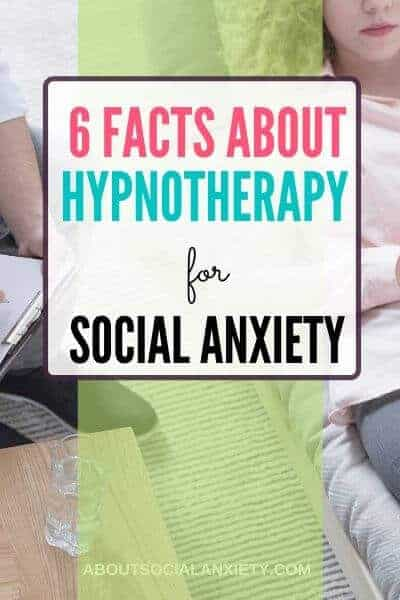 Hypnosis couch with text overlay - 6 Facts about Hypnotherapy for Social Anxiety