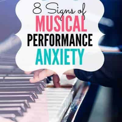 Signs of Musical Performance Anxiety