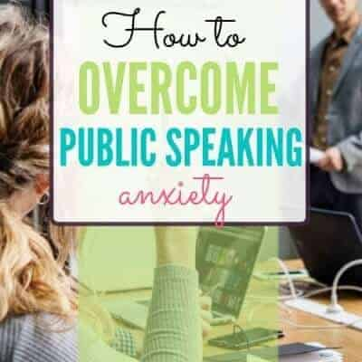 5 Quick Tips to Overcome Public Speaking Anxiety