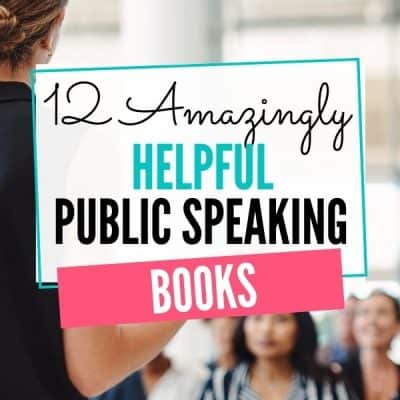 12 Amazingly Helpful Public Speaking Books