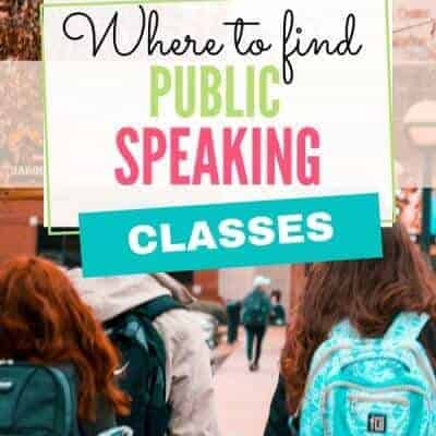 Where to Find Public Speaking Classes