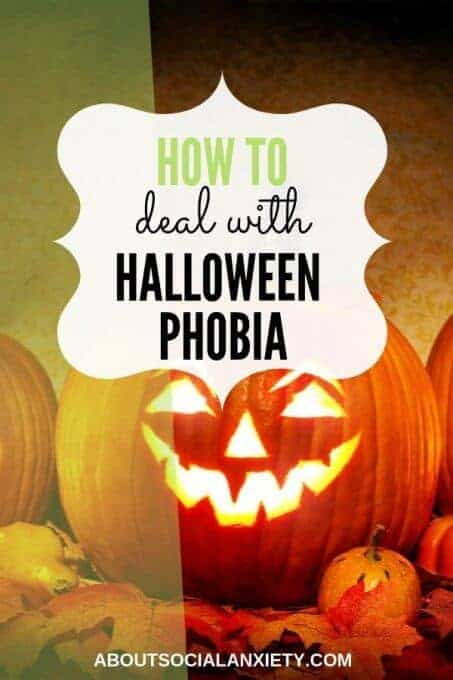 Jack-o-Lanterns with text overlay - How to deal with Halloween phobia