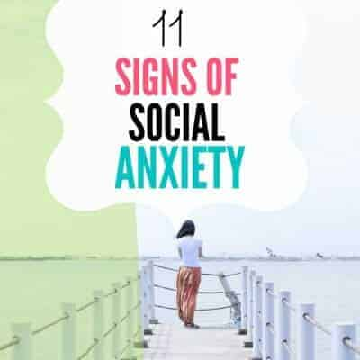 Signs of Social Anxiety