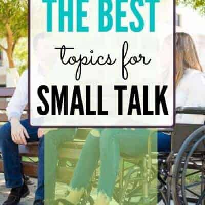 The Best Small Talk Topics When You Have Social Anxiety