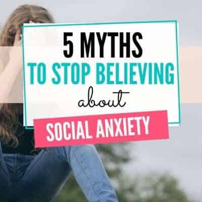 Myths about Social Anxiety
