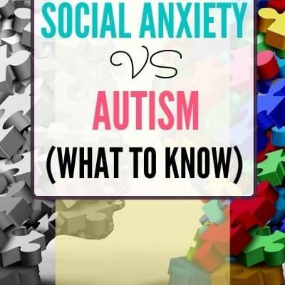 Social Anxiety vs Autism