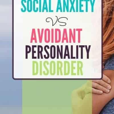 Social Anxiety vs Avoidant Personality Disorder